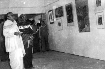 1977 EXHIBITION WITH KAMAL NARAYAN CHOUDHURY