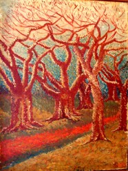 ASUDEV' s PAINTING:  TREES